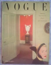 Vogue Magazine - 1950 - Feburary